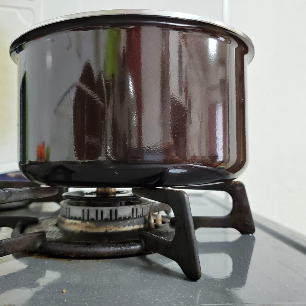 ティファールの小鍋 安定具合